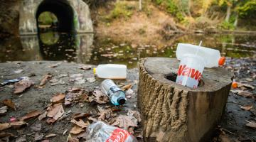 waterway litter
