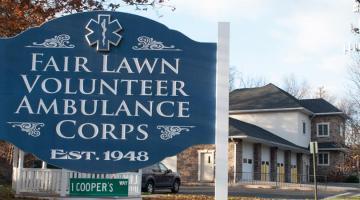 Fair Lawn Volunteer Ambulance Corps Sign
